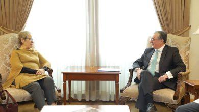 Photo of Զոհրաբ Մնացականյանն ընդունել է ԵԱՀԿ ԺՀՄԻԳ տնօրեն Ինգիբյորգ Գիսլադոտիրին