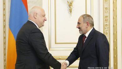 Photo of Վարչապետն ընդունել է ԵԱՀԿ ԽՎ նախագահ Գեորգի Ծերեթելիին
