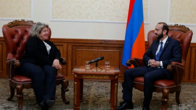 Photo of Արարատ Միրզոյանը հրաժեշտի հանդիպում է ունեցել Հայաստանում Հունաստանի դեսպանի հետ