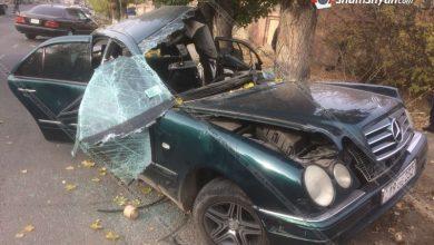 Photo of Գյումրիում Mercedes-ը բախվել է ծառերին. վարորդին տեղափոխել են հիվանդանոց. ավտոմեքենան վերածվել է մետաղե ջարդոնի