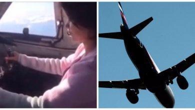 Photo of Российский пилот посадил за штурвал самолета подругу и дал ей «порулить»