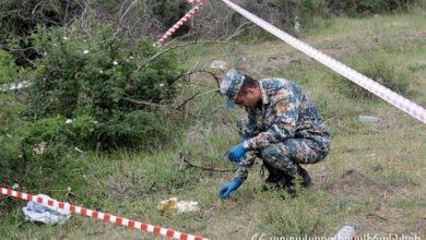 Photo of Սարիգյուղում հայտնաբերված արկի պայթուցիչը տեղում վնասազերծվել է