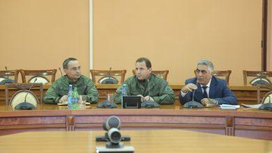 Photo of Հանդիպում ՀՀ ՊՆ վարչական համալիրում