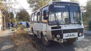Photo of Ավտովթար Արմավիրի մարզում. բախվել են Mercedes-ն ու ՊՆ հաշվեկշռում գրանցված մարդատար ավտոբուսը
