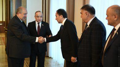 Photo of ՀՀ նախագահն ընդունել է Տաջիկստանի խորհրդարանի նախագահին