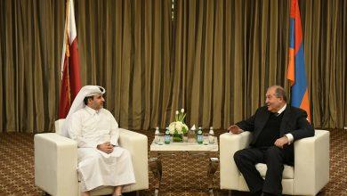 Photo of Նախագահ Արմեն Սարգսյանը հանդիպել է Կատարի քաղաքի և շրջակա միջավայրի հարցերով նախարարի հետ