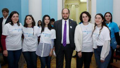 Photo of Արայիկ Հարությունյանն ու աշակերտները հանդիպել են` Երեխաների համաշխարհային օրվա շրջանակում