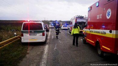 Photo of Жертвами аварии автобуса в Словакии стали 12 человек