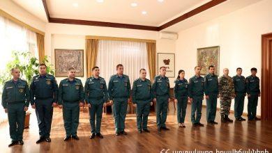 Photo of ՀՀ 8 քաղաքացի ծառայության անցան ԱԻՆ Փրկարար ծառայության համակարգում, իսկ 13 փրկարարներ ստացան հերթական սպայական կոչումները