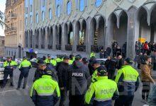 Photo of «Վրացական երազանքի» գրասենյակի մոտ ոստիկանական ուժեր են մոբիլիզացված