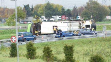 Photo of Ֆրանսիայում ավտոբուսի վթարի հետեւանքով տուժել է առնվազն 30 զբոսաշրջիկ. 4-ի վիճակը ծանր է