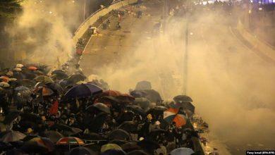 Photo of В Гонконге в районе университета усилились столкновения