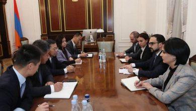 Photo of Вице-премьер Армении обсудил с китайским инвестором строительство медеплавильного завода