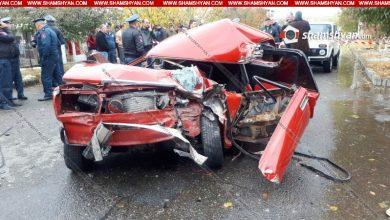 Photo of Ողբերգական ավտովթար Շիրակի մարզում. բախվել են КамАЗ-ն ու ՎԱԶ-2107-ը. վարորդի դին ավտոմեքենայից դուրս են բերել փրկարարները