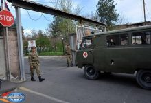 Photo of Ականի պայթյունից վիրավորված զինծառայողը տեղափոխվում է Երևան