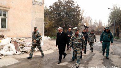 Photo of Ֆելիքս Ցոլակյանն այցելել է Երևան քաղաքում գտնվող հրշեջ-փրկարարական ջոկատներ