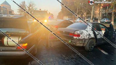 Photo of Խոշոր ավտովթար Երևանում. բախվել են 4 ավտոմեքենա. կան վիրավորներ