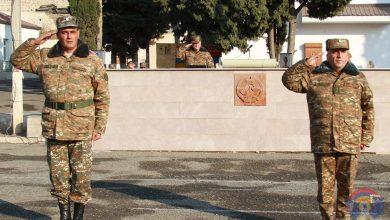 Photo of Արցախի ՊԲ հրամանատար Կարեն Աբրահամյանը աշխատանքային շրջայցով եղել է հանրապետության հյուսիսային հատվածում տեղակայված և մարտական հերթապահություն իրականացնող պաշտպանության բանակի մի շարք զորամասերում