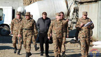 Photo of Կարեն Աբրահամյանը աշխատանքային շրջայց է իրականացրել մի շարք զորամասերում