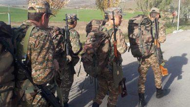 Photo of 1-ին զորամիավորման ստորաբաժանումների զինծառայողներն անցկացրել են երթարշավ