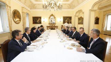 Photo of Վարչապետը Իտալիայի գործարար շրջանակներին է ներկայացրել Հայաստանի ներդրումային հնարավորությունները