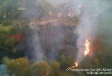 Photo of Մ-2 ավտոճանապարհի Գորիս-Սիսիան հատվածում՝ դեպի Իշխանասար լեռ, բռնկված հրդեհն ինքնամարվել է