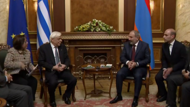 Photo of «Հյուրընկալել եմ պաշտոնական այցով Հայաստան ժամանած եղբայրական Հունաստանի նախագահին», Ն.Փաշինյան