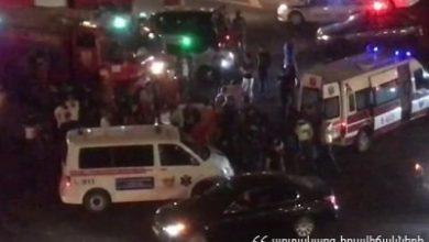 Photo of Վթար Նժդեհի եւ Սեւանի փողոցների խաչմերուկում. բախվել են 3 մեքենաներ. Կա վիրավոր