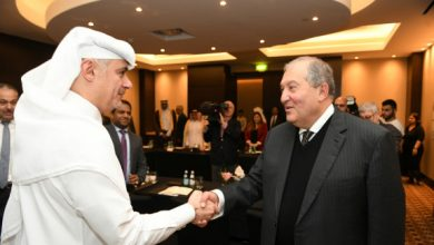 Photo of Մեր դուռը բաց է ձեզ համար․ նախագահ Արմեն Սարգսյանը կատարցի գործարարներին հրավիրել է ներդրումներ կատարել Հայաստանում