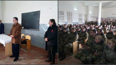 Photo of Յուրօրինակ նախագիծ, որը գիտելիքի հետ միաժամանակ ուղերձներ է հասցնում եւ տրամադրություն հաղորդում զինվորին