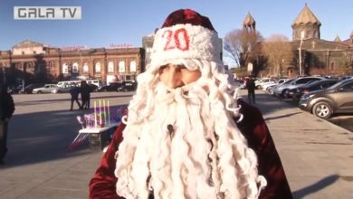 Photo of «Место, где я живу, похоже на ухо», — Гюмрийский Дед Мороз раскрывает секреты