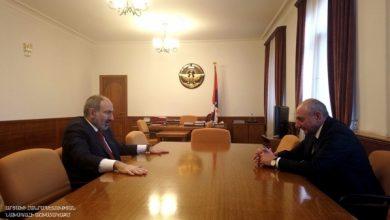 Photo of Встреча с Премьер-министром Республики Армения Николом Пашиняном
