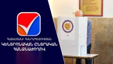 Photo of Ժամը 14:00-ի դրությամբ 16 համայնքներում քվեարկել է ընտրողների 26.56 տոկոսը․ ԿԸՀ տվյալները