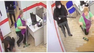 Photo of Вооруженное ограбление банка в Санкт-Петербурге попало на видео