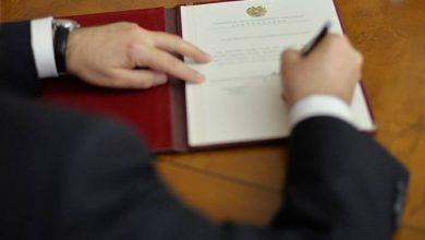 """Photo of Президент Армении подписал Закон """"О ранней пенсионной системе судей КС"""""""