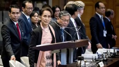 Photo of Аун Сан Су Чжи была поборницей прав человека. Теперь она защищает Мьянму в Гааге от обвинений в геноциде