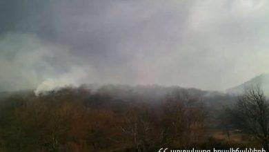 Photo of Գորիս-Որոտան ավտոճանապարհին հարակից տարածքում այրվում է մոտ 13 հա բուսածածկույթ