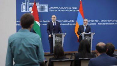 Photo of Զոհրաբ Մնացականյանի խոսքը և պատասխանը լրագրողների հարցերին հորդանանցի նախարար Այման Սաֆադիի հետ համատեղ մամուլի ասուլիսին