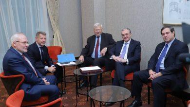Photo of ԱԳ նախարար Մնացականյանի հանդիպումը ԵԱՀԿ Մինսկի խմբի համանախագահների հետ