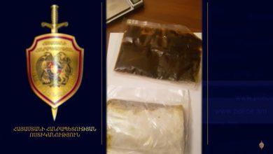 Photo of Ոստիկանություն բերման ենթարկվածի մոտ հաշիշի նմանվող ընդհանուր 178 գրամից ավելի զանգվածներ էին