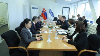 Photo of ԱԳ նախարար Զոհրաբ Մնացականյանի հանդիպումը Սլովակիայի ԱԳ նախարար, ԵԱՀԿ գործող նախագահ Միրոսլավ Լայչակի հետ