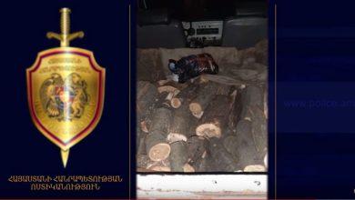 Photo of Ոստիկանության Թումանյանի բաժնի ծառայողները փայտանյութով բեռնված մեքենաներ են հայտնաբերել