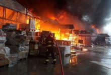 Photo of Բաքվում խոշոր հրդեհ է. այրվում է շինանյութի շուկան