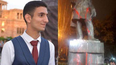 Photo of Շահեն Հարությունյանը ներկել է գրող Գրիբոյեդովի արձանը