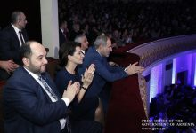 Photo of Նիկոլ Փաշինյանը և Աննա Հակոբյանը ներկա են գտնվել Լևոն Մալխասյանի 75-ամյակի հոբելյանական երեկոյին