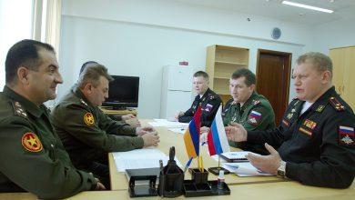 Photo of Քննարկվել են ռազմական ոլորտում տեղեկատվության փոխանակման հարցեր