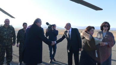 Photo of Президент Саакян встретил Президента Республики Армения Армена Саркисяна