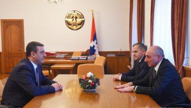 Photo of Встреча с исполняющим обязанности директора СНБ Республики Армения Эдуардом Мартиросяном
