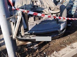 Photo of Ավտոմեքենան դուրս է եկել ավտոճանապարհի երթևեկելի հատվածից և կողաշրջվել