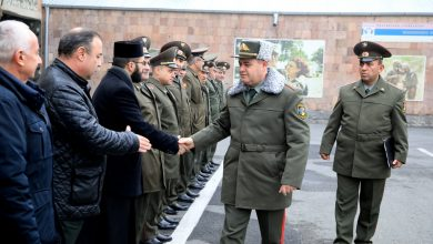Photo of ՀՀ ԶՈւ գլխավոր շտաբի պետն այցելել է կենտրոնական հավաքակայան
